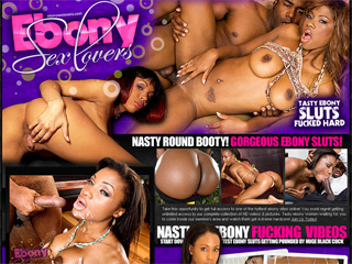 Ebony Sex Lovers - Tasty Ebony Sluts Fucked Hard!