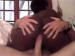 Gorgeous ethnic angel gets big load