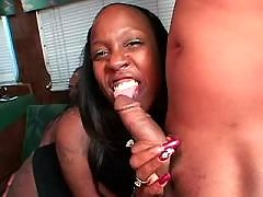 Gorgeous brown mature gets licked out